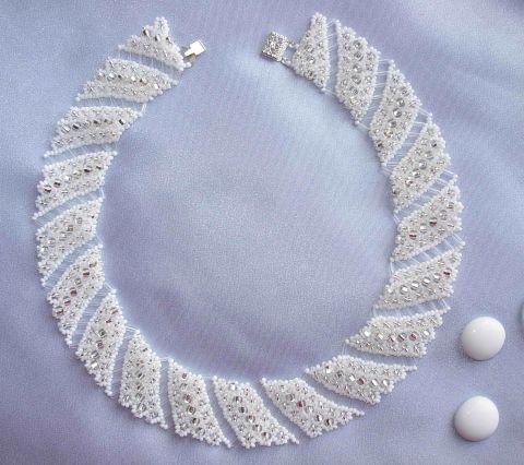 Бисероплетение ожерелья