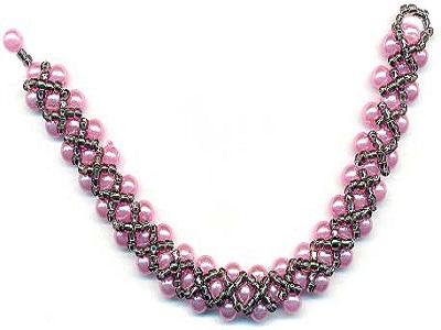 красивые браслеты из бисера схемы