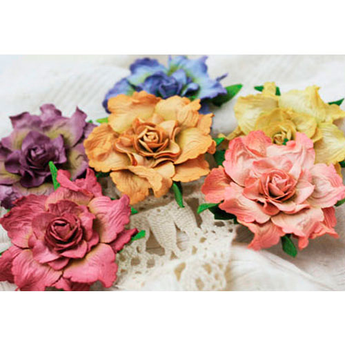 Скрапбукинг цветы своими руками