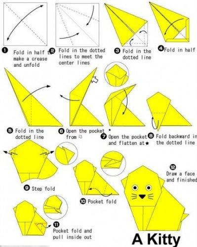 Зачем схемы поделок из бумаги