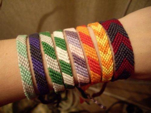 плетение бисером фенечки.