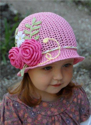 шапки крючком - Схемы
