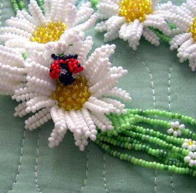 уроки как сделать из бисера браслеты кольца ожерелья.