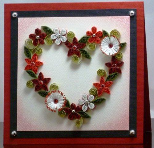 Квиллинг-схемы цветов помогут