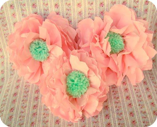 Поделки из салфеток: цветы