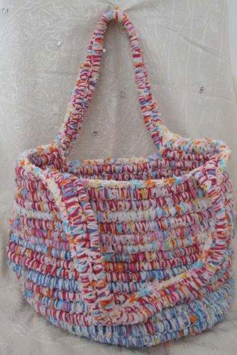 Оказывается, handmade сумки можно изготавливать из подручных материалов...