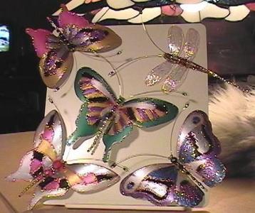 Поделки бабочки из пластиковых бутылок