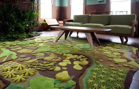 Вышивание ковровой техникой