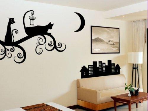 Стены с рисунками своими руками 653