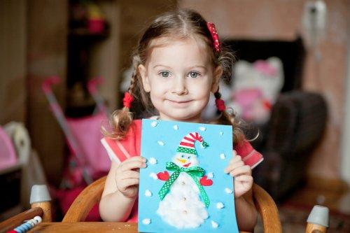 Как сделать открытку на новый год своими