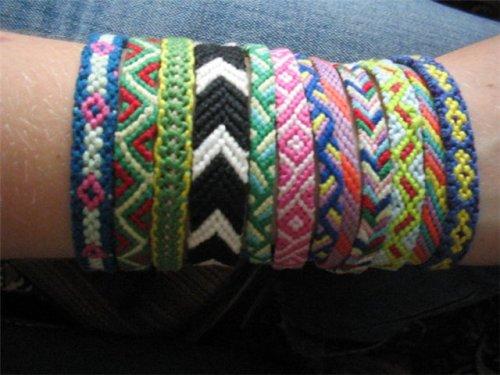 Способы плетения фенечек из