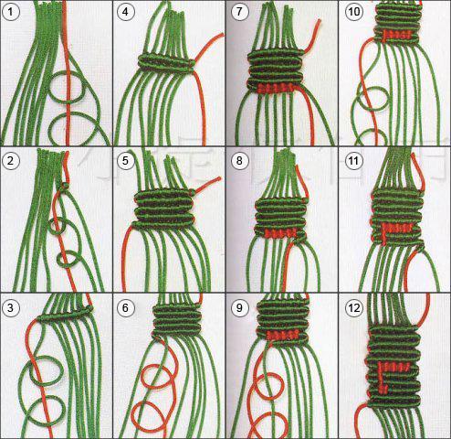 как плести прямым плетением из бисера