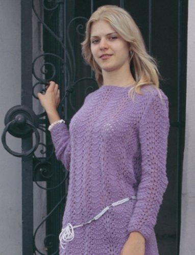 Вязание женских пуловеров