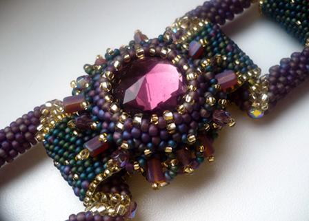 бисероплетение колье и ожерелья мастер класс