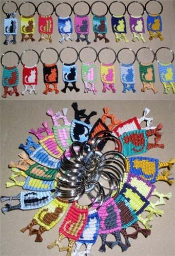 Плетение фенечек из мулине: