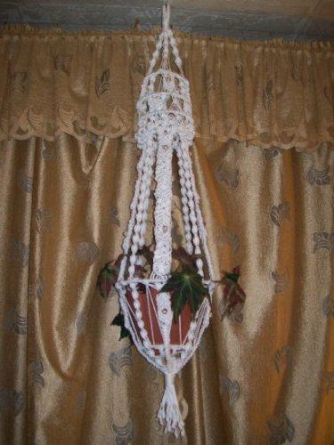 """Для работы понадобится.  Рассмотрим схему плетения кашпо  """"Юлианна """".  Его длина составляет 1,5 метра."""