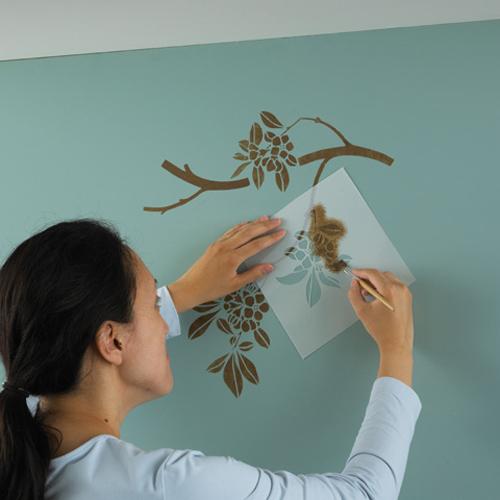 Трафареты рисунков на стены своими руками