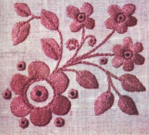 Узоры вышивки нитками