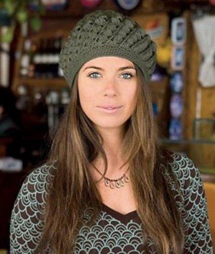 Схемы и описание вязания шапок